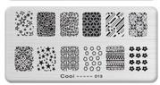 Трафареты для штампинга прямоугольные (12*6 см)